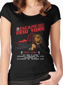 8-Bit Eyepatch   Women's Fitted Scoop T-Shirt