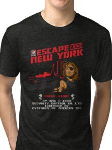 8-Bit Eyepatch   Tri-blend T-Shirt