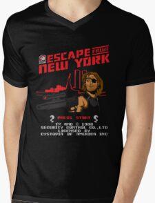 8-Bit Eyepatch   Mens V-Neck T-Shirt