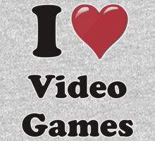 I Heart Video Games by HighDesign