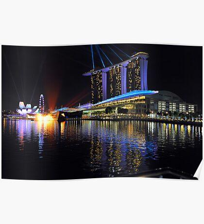 Marina Bay Sands. Singapore. Poster