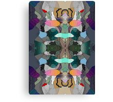 Abstraction Lined Canvas Print
