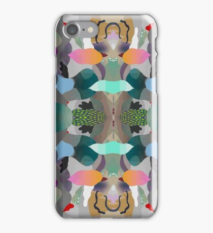 Abstraction Un-Lined iPhone Case/Skin