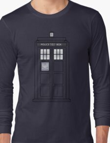 Telephone Box Long Sleeve T-Shirt