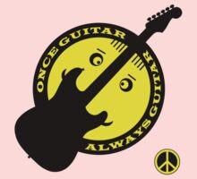 Once Guitar Always Guitar Kids Tee