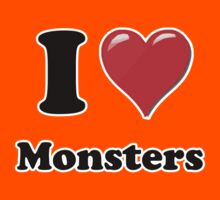 I Heart Monsters