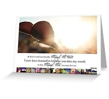 March 2013 - Lost for Words Calendar Greeting Card