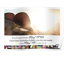 March 2013 - Lost for Words Calendar Poster