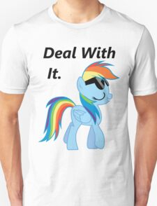 Deal With It -Dash  Unisex T-Shirt