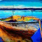 A Boat Somewhere by DiNovici