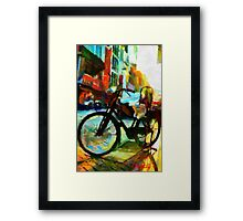 The Daily Commuter Framed Print