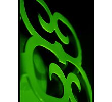 Plated In Neon Green Photographic Print