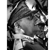 General MacArthur Photographic Print