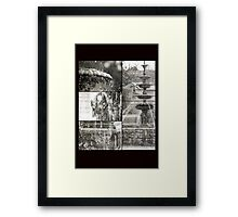 Orderly Chaos Framed Print