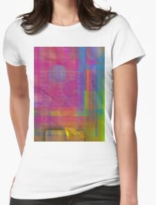 Colorful 9 Womens Fitted T-Shirt