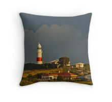 Low Head Lighthouse Tasmania Throw Pillow