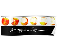 An apple a day......... Poster