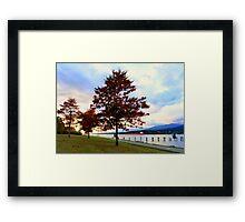 Barnet Marine Park Burnaby BC Framed Print