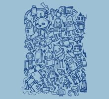 Lots of Robots Kids Tee