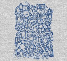 Lots of Robots One Piece - Long Sleeve