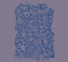 Lots of Robots Kids Tee