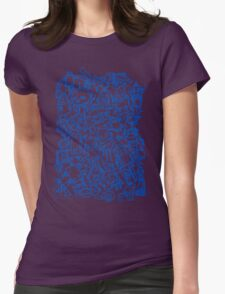 Lots of Robots Womens Fitted T-Shirt