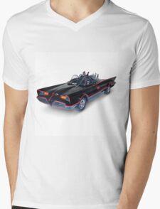 1966 Batmobile Mens V-Neck T-Shirt