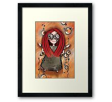 Girl Quirky—Rocket Power Framed Print