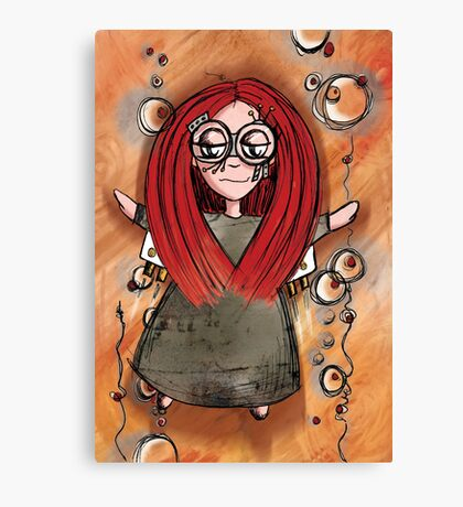 Girl Quirky—Rocket Power Canvas Print