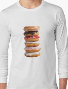 Stack of Donuts  Long Sleeve T-Shirt