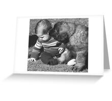 """But one little Kiss is all I want "" Greeting Card"