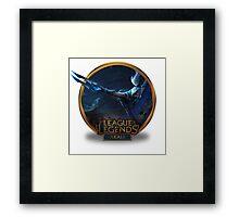 Akali Silverfang - League of Legends Framed Print