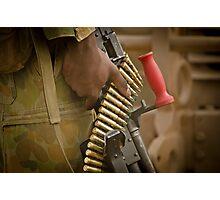 Army Training Photographic Print