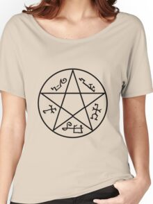 Supernatural devils Trap Symbol Women's Relaxed Fit T-Shirt