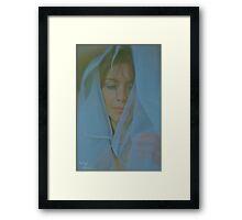 The Ecstasy of Saint Adele. Framed Print