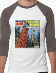 Action Man training tower Men's Baseball ¾ T-Shirt