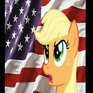 AppleJack Salute by eeveemastermind