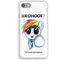 Brohoof iPhone Case/Skin