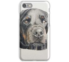Max the beautiful Rottweiler iPhone Case/Skin