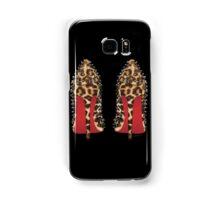 LOUBOUTIN in leopard Samsung Galaxy Case/Skin