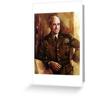 Omar Bradley  Greeting Card