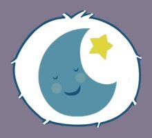 Bedtime Bear - Carebears - cartoon logo Kids Tee