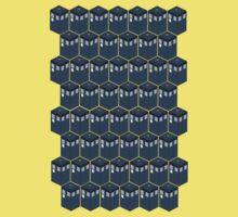 Timey-Wimey Tessellation One Piece - Short Sleeve