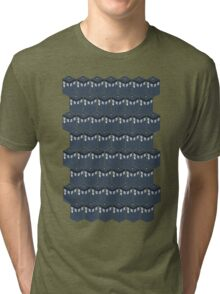 Timey-Wimey Tessellation Tri-blend T-Shirt