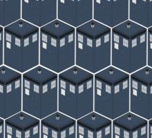 Timey-Wimey Tessellation Sticker