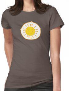 Funshine Bear - Carebears -Cartoon Logo  Womens Fitted T-Shirt