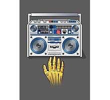 Retro Star Wars Boom box/Ghetto Blaster R2-D2 C-3PO Photographic Print