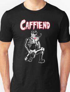 Caffiend-Coffee Danzig Misfits mash-up T-Shirt