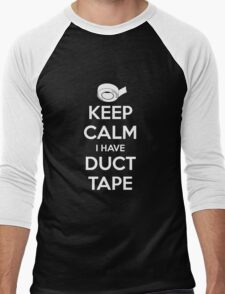 Keep Calm I Have Duct Tape Men's Baseball ¾ T-Shirt