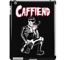 Caffiend-Coffee Danzig Misfits mash-up iPad Case/Skin